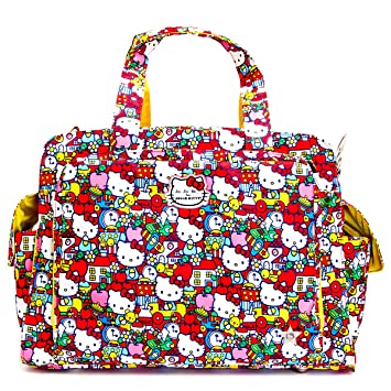 78ef11d85 Amazon.com : Ju-Ju-Be Hello Kitty Collection Be Prepared Diaper Bag, Tick  Tock : Baby