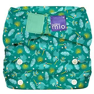 Bambino Mio Miosolo All-in-One Cloth Diaper, Hummingbird