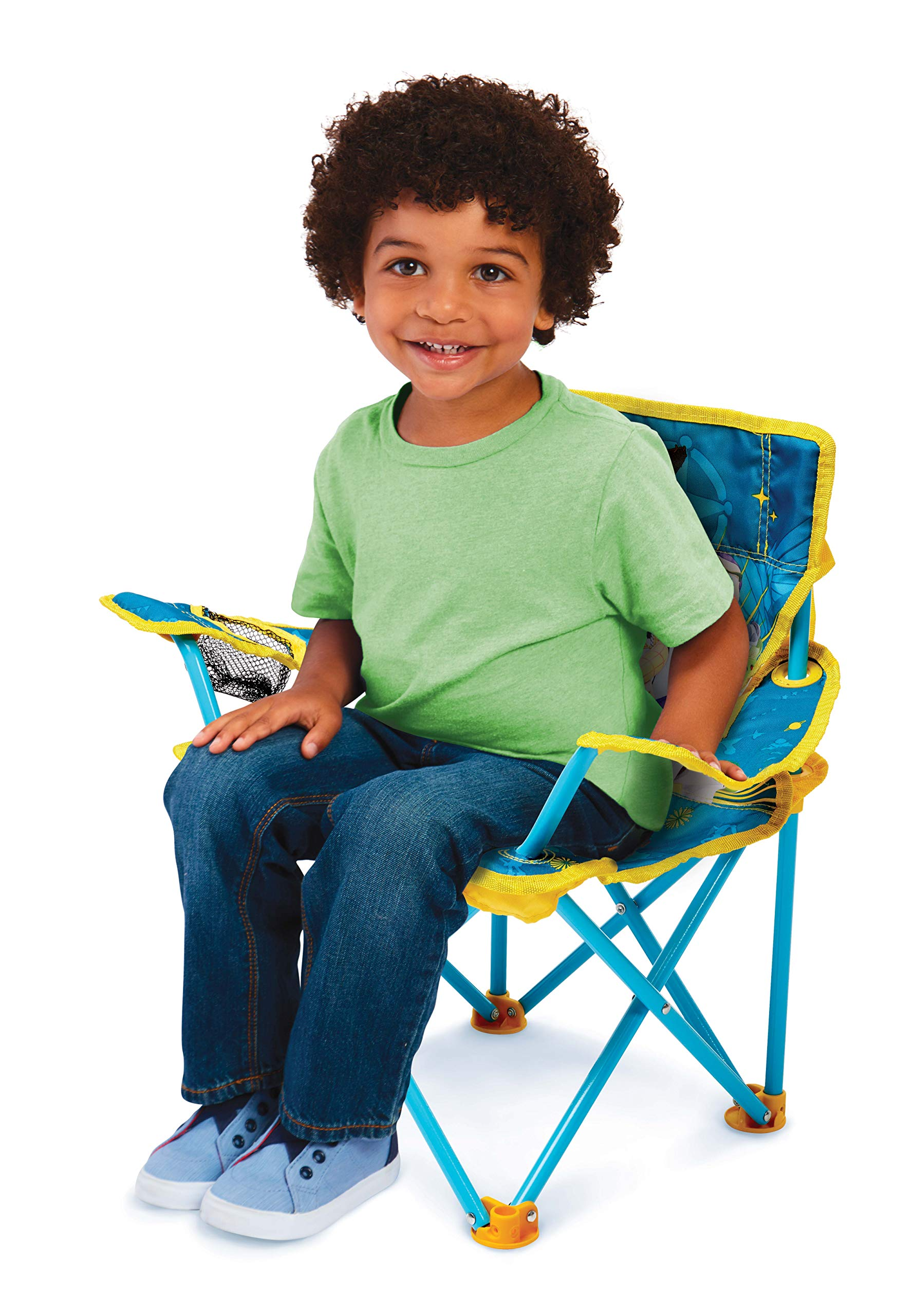 Jakks Pacific Toy Story 4 Camp Chair for Kids, Portable Camping Fold N Go Chair with Carry Bag by Jakks Pacific (Image #2)