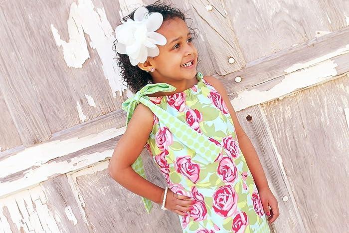 Amazon Com Little Girls Fully Lined Pillowcase Dress Handmade