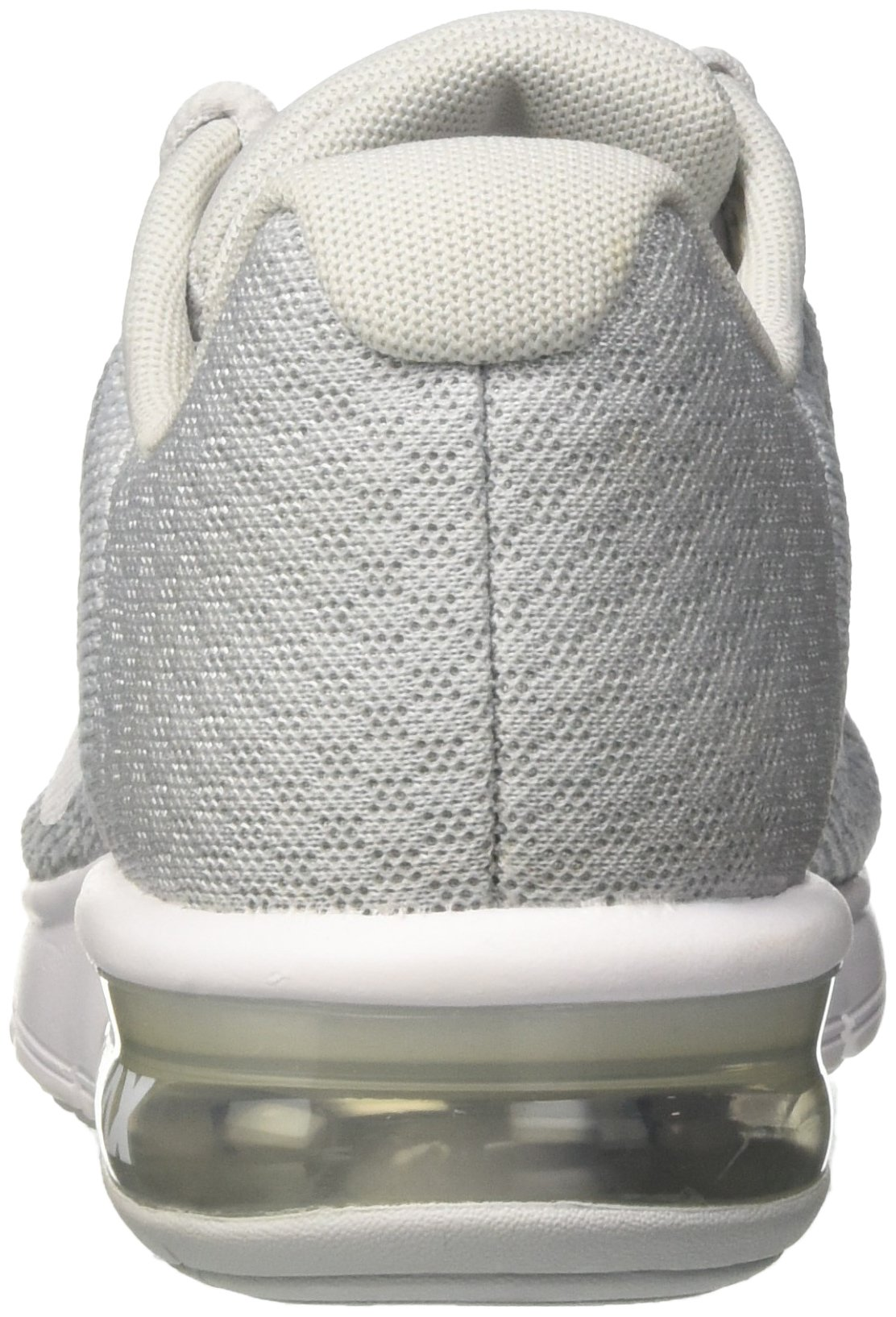 NIKE Womens Air max Sequent 2 Low Top Lace Up Running Sneaker, Silver, Size 10.0 by NIKE (Image #2)