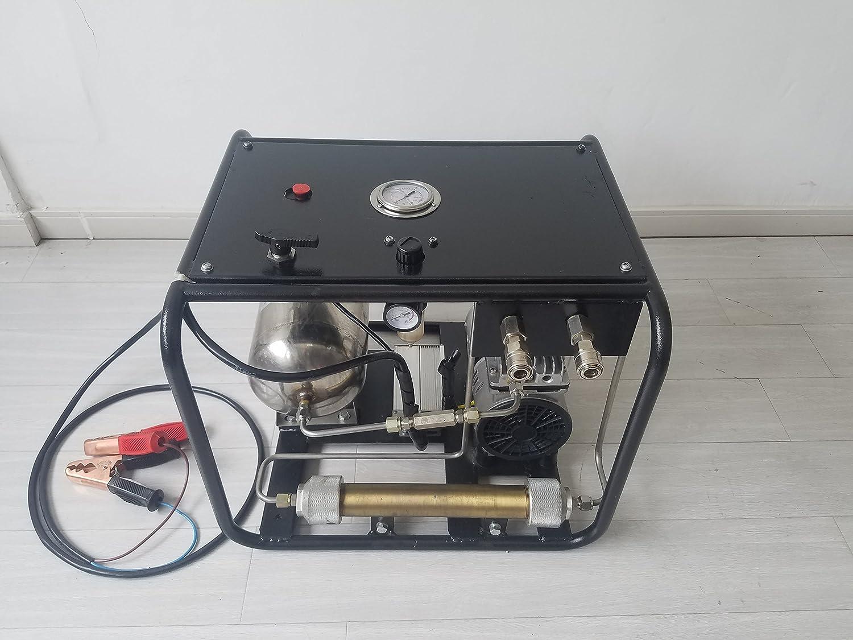 DAVV 電子空気圧縮機 SCU80、水煙管ダイブシステム、空気の新しい第3の肺面 B073CS5DS1
