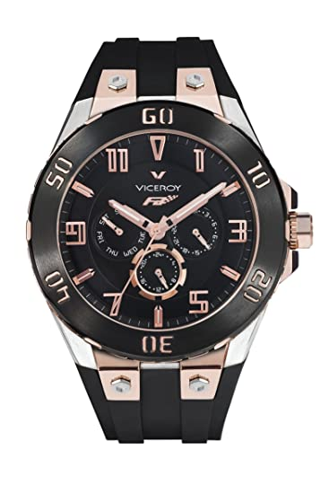Reloj Viceroy Fernando Alonso 47675-95 Hombre Negro
