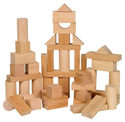 f05038ce392 Amazon.com  Ryans Room Small World Toys Wooden Toys -Bag O  Blocks ...