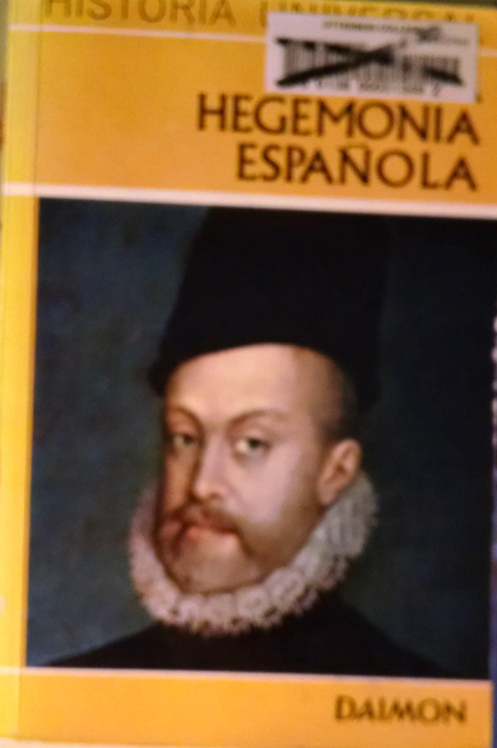 hegemonia española