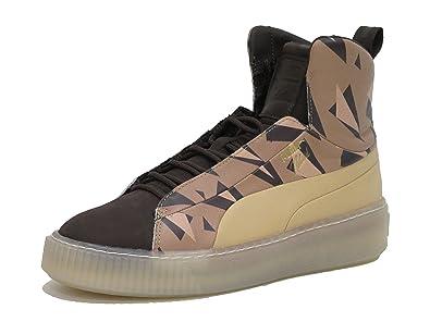 Puma Platform Cheetah NATUREL W Schuhe chocolate YdOlIC
