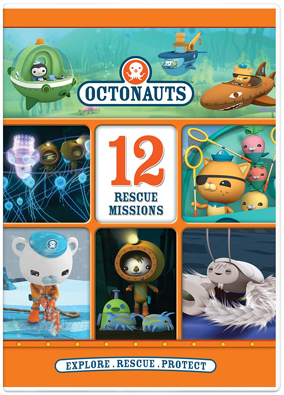 Amazon.com: Octonauts: 12 Rescue Missions: Ross Breen, Darragh O ...