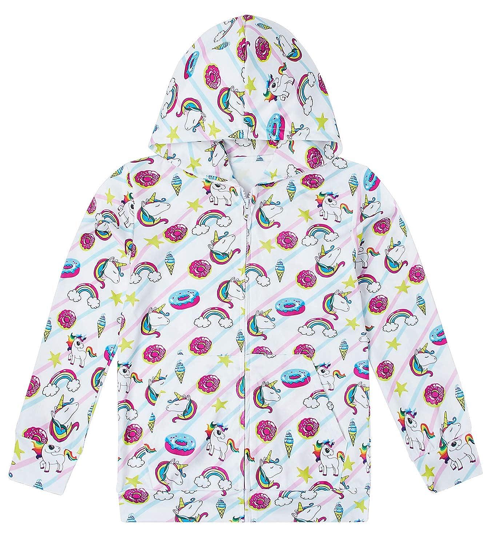 BFUSTYLE Girls Boys Hoodies with Pocket Kids Hooded Sweatshirt Size 4-14