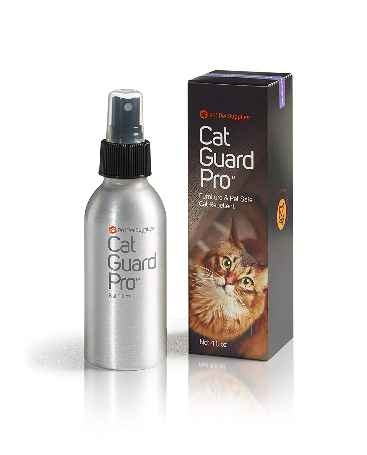 Cat Guard Pro Pet Safe Furniture Cat Repellent - 4oz Spray Bottle