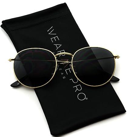 Wear Me Pro   Reflective Lens Round Trendy Sunglasses by Wear Me Pro