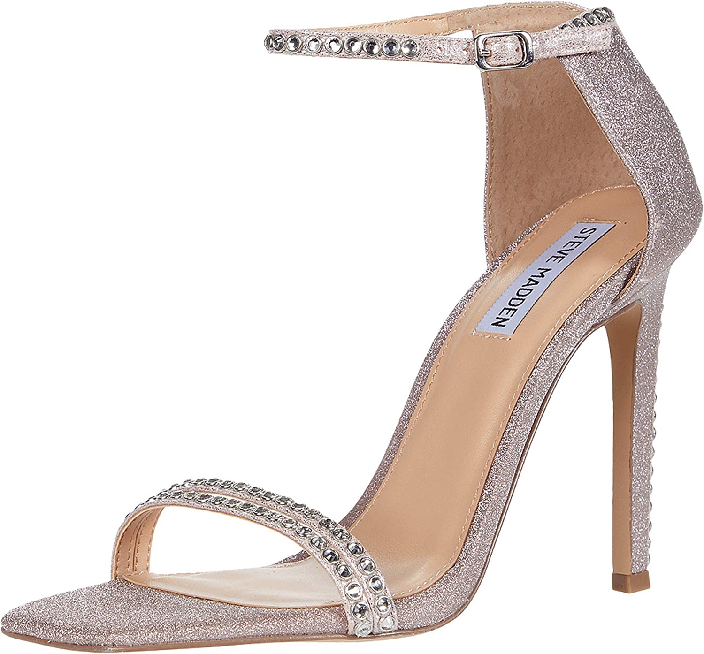 álbum cohete Acuario  Amazon.com | Steve Madden Women's Collette Heeled Sandal | Heeled Sandals