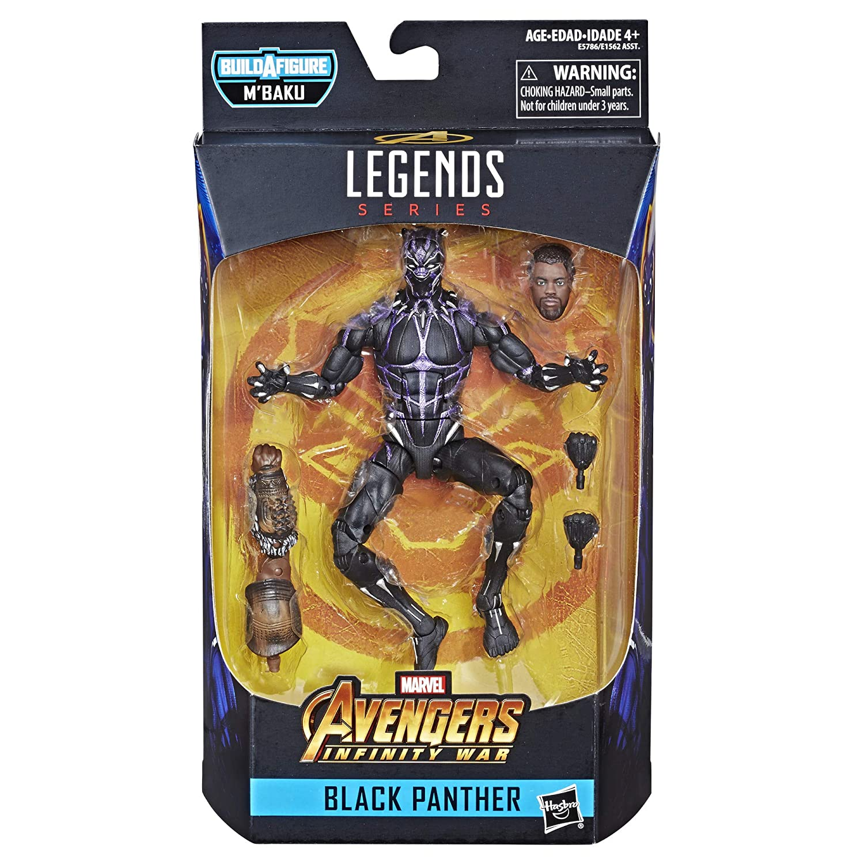 Infinity War 6-inch Black Panther Figure Marvel Legends Series Avengers