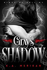 Gray's Shadow (gay biker paranormal romance) (Kings of Hell MC Book 4)