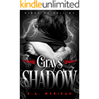 Gray's Shadow (gay biker paranormal romance) (Kings of Hell MC Book 4) book cover