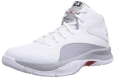 Nike Jordan Court Vision 00 Men s Basketball Shoes White White Black