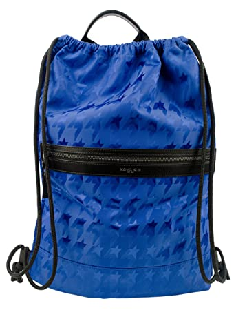 5f726b999365 Amazon.com | Michael Kors Men's Star-Printed Kent Nylon Drawstring Backpack-C-One  Size | Backpacks