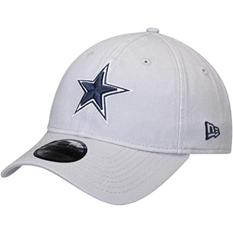 9230cab9 Image Unavailable. Image not available for. Color: Dallas Cowboys New Era  Core Classic Gray 9Twenty ...