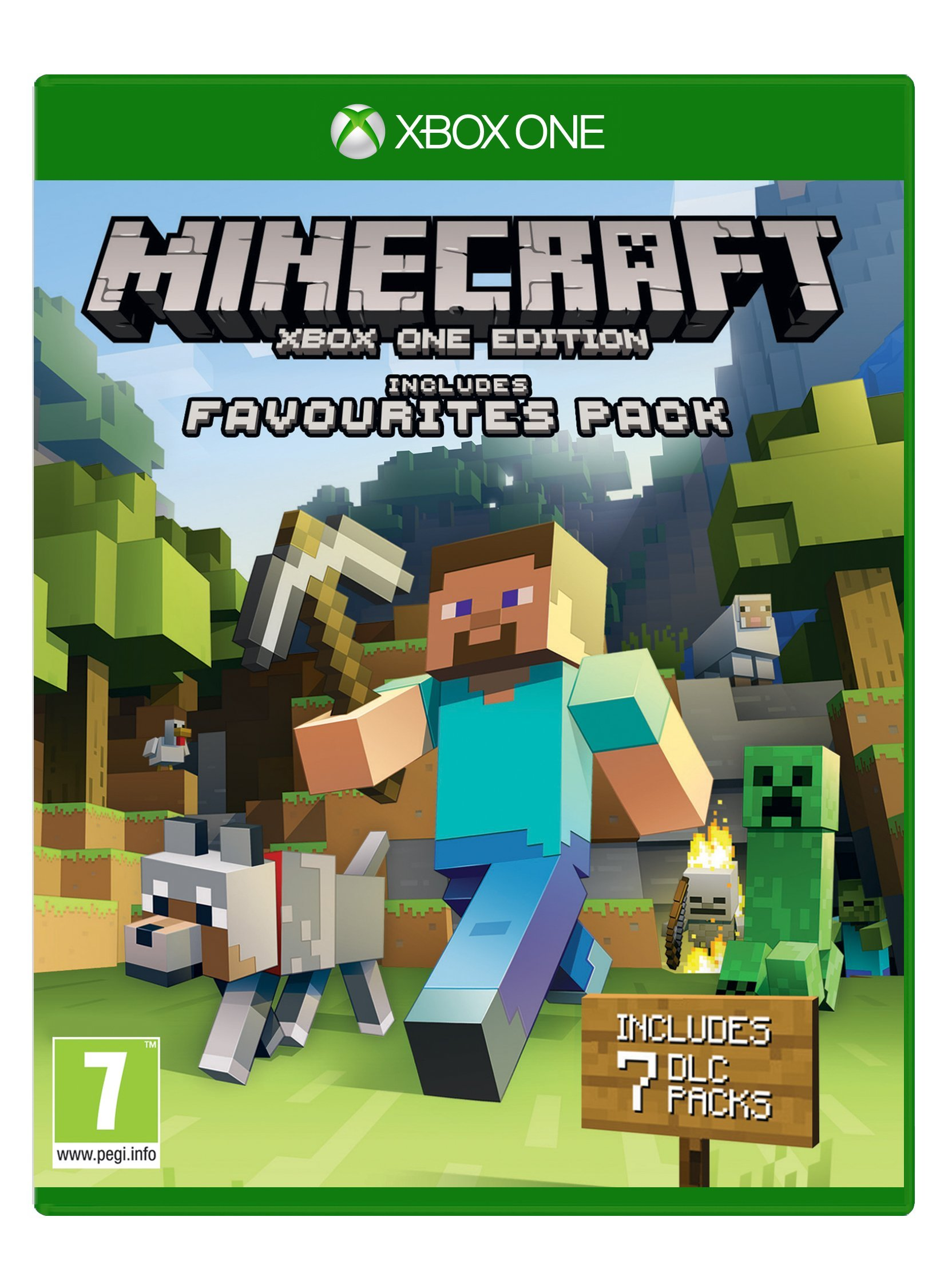 Minecraft: Favourites Pack (Xbox One) (B01FDB848K) Amazon Price History, Amazon Price Tracker
