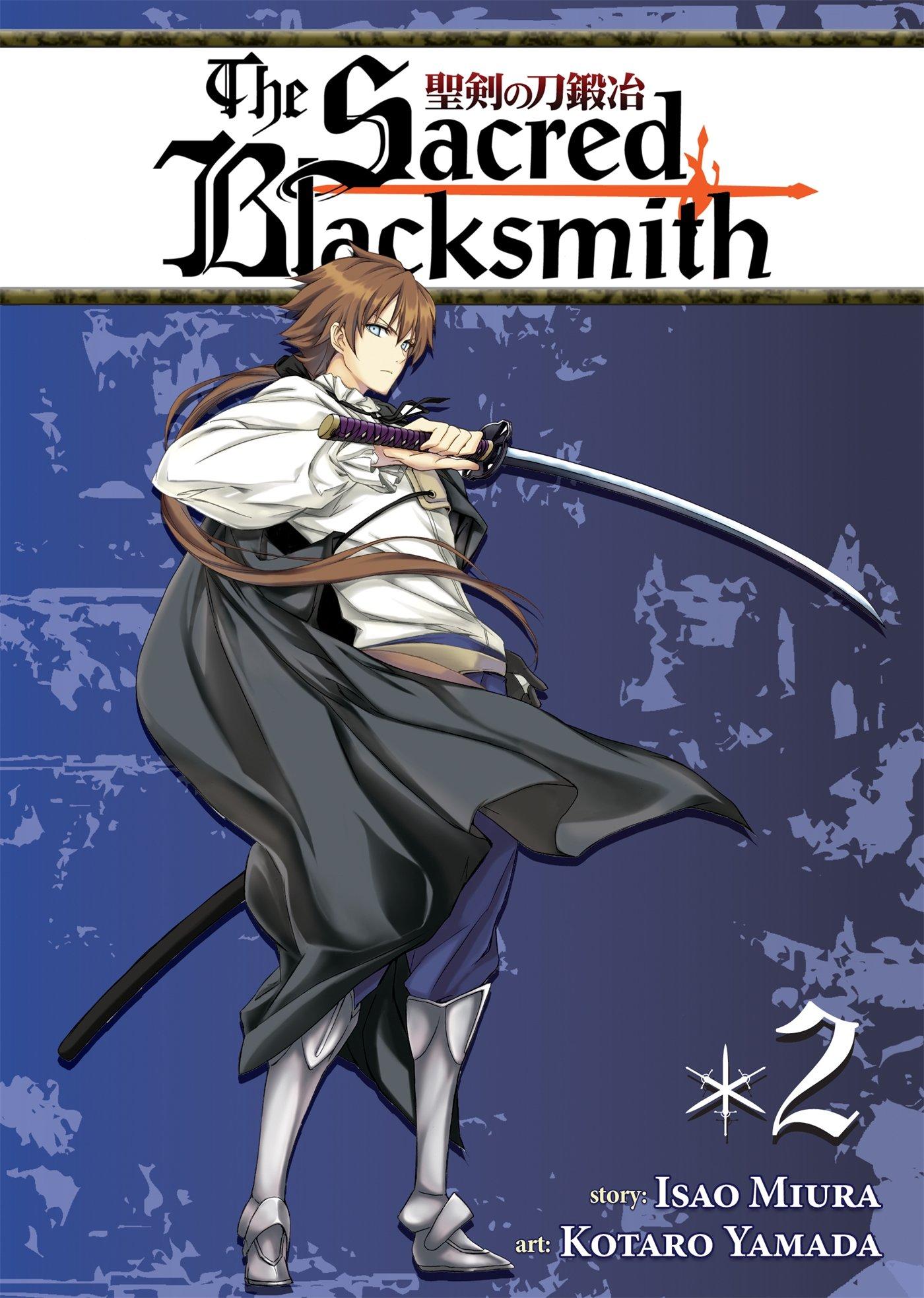 Sacred Blacksmith Vol 1,2,3,4,5,6,7,8,9,10 Manga Graphic Novels Set English