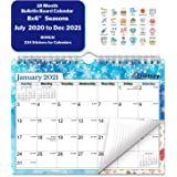 CRANBURY Small Wall Calendar 2020-2021 (Seasons), Cute Mini Bulletin Board Calendar for Wall or Desk, 8x6 Inches, Use…