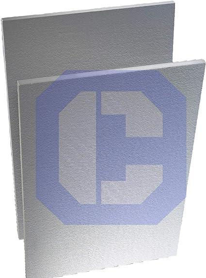 Ceramic Fiber Board 2300F Rated 1 Pcs//Pkg 1 X 12 X 24