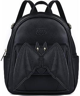 231dbc1ebf Hot black bat heart backpack wing gothic goth punk lace lolita ...