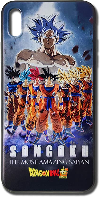 Dragon Ball Super Saiyan Son Goku 2 iphone case