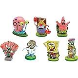 """SpongeBob SquarePants® 2"""" Aquarium Ornaments, 7-Piece Set"""