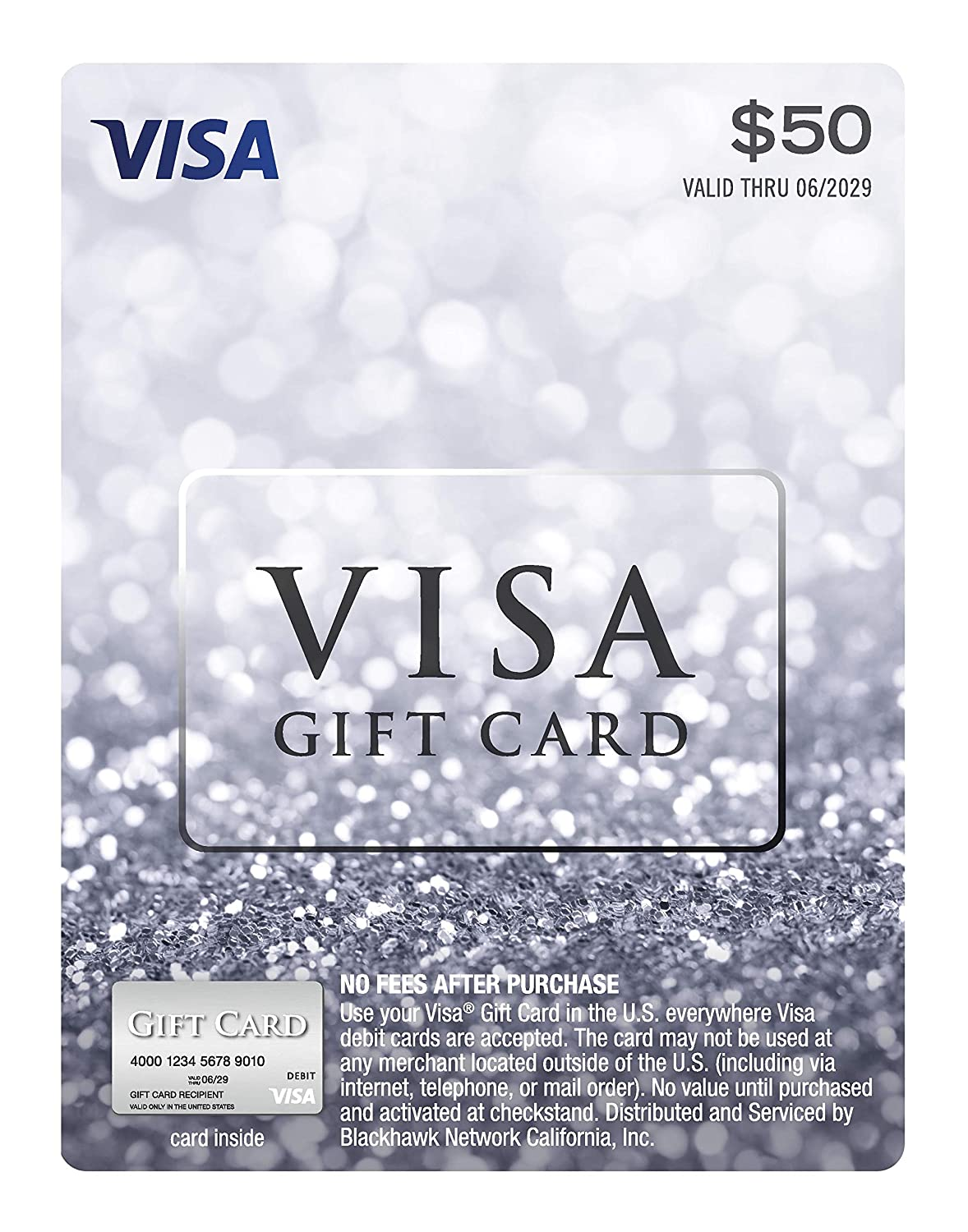 $12 Visa Gift Card (plus $12.12 Purchase Fee)