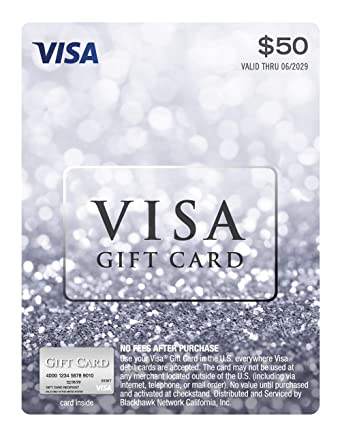 $13 Visa Gift Card (plus $13.13 Purchase Fee)