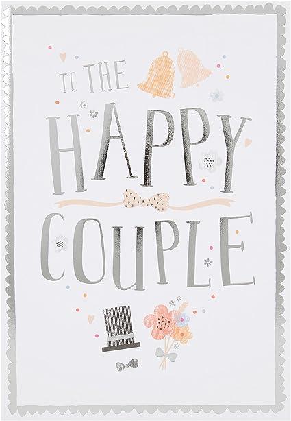 Hallmark – Tarjeta de felicitación de boda (
