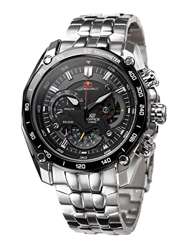 f716388d2663 Relojes Casio Edifice ef-550rbsp-1av Red Bull acero inoxidable  Amazon.es   Relojes