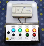 ALLEN BRADLEY MICROLOGIX 1000 PLC TRAINER ~ PLC TRAINING STARTER KIT WITH LESSONS FOR RSLOGIX 500