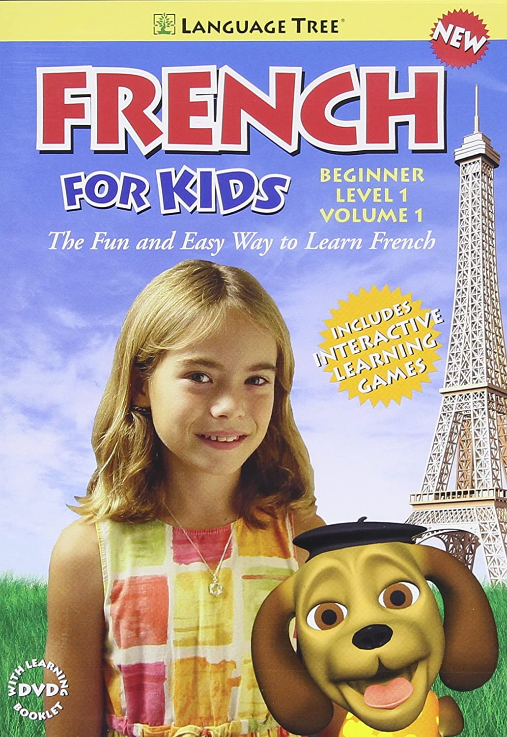 French for Kids: Learn French Beginner Level 1 vol. 1 (Bilingual) Mazel Language Tree 4 Childrens