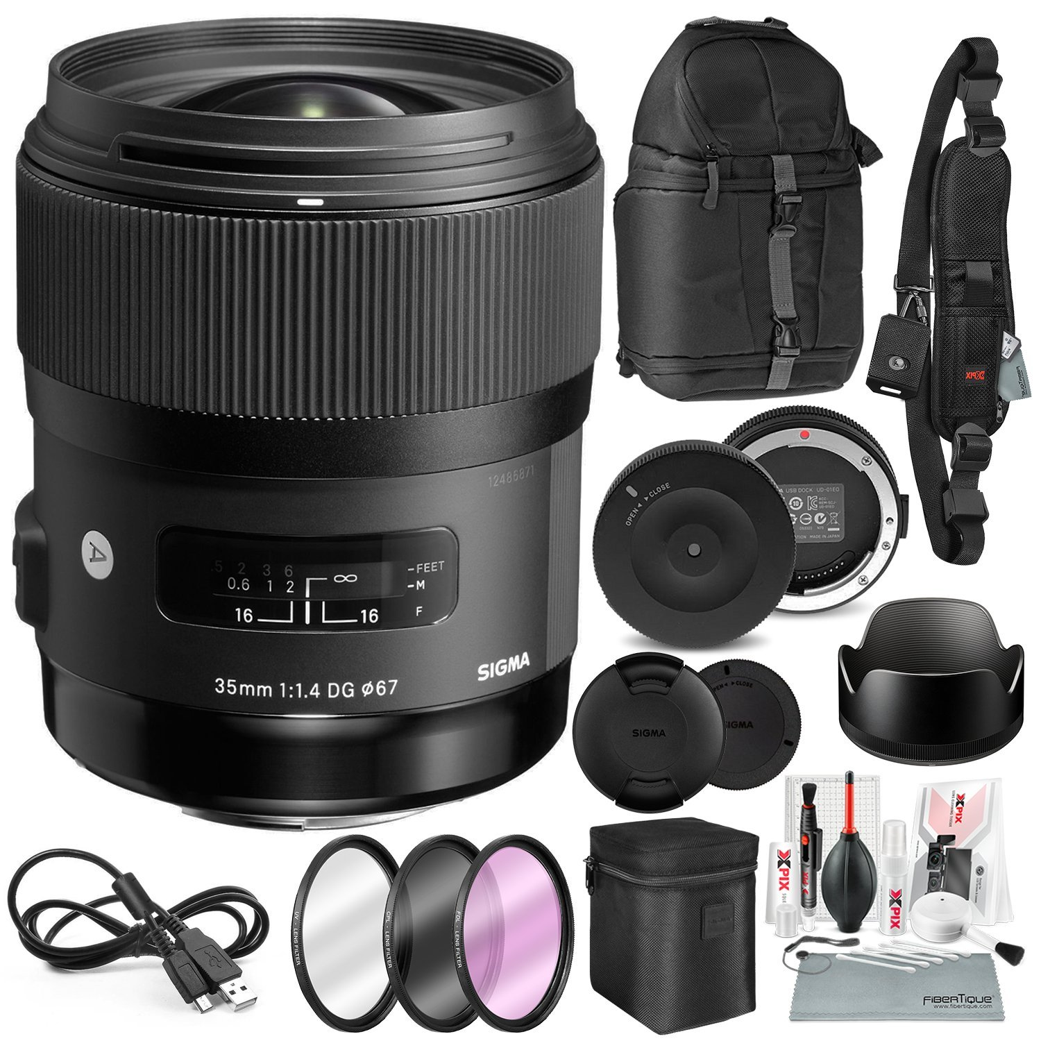low-cost Sigma 35mm f/1 4 DG HSM Art Lens for Canon DSLR