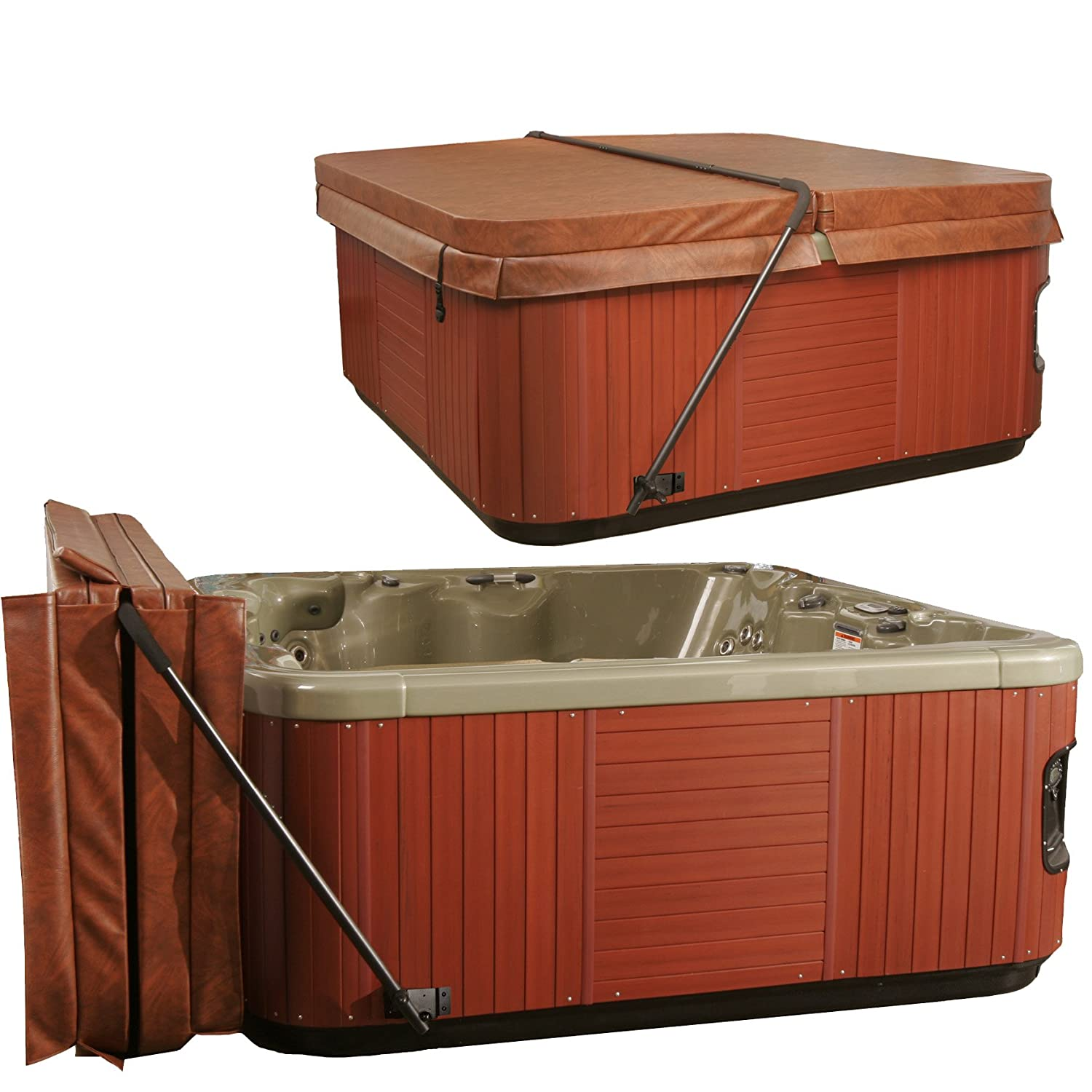 spa custom ultra hot your taper design base sale deluxe tub foam a for cover with make r covers own
