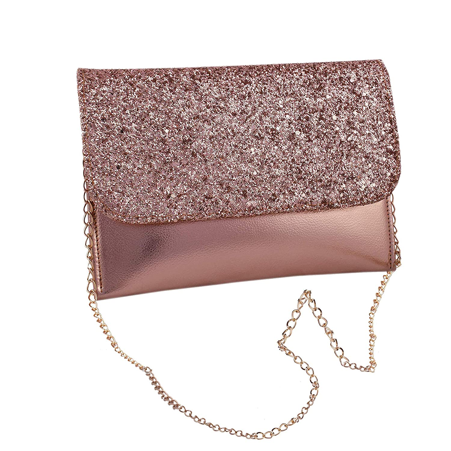 Latest Design Cross body Chain Sling bag for Women and Girls College Office Clutches/Handbag/Chained Sling belt stylish latest Bag