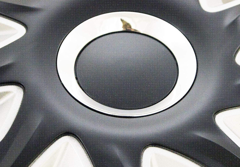 UKB4C 4 x Wheel Trims Strat Hub Caps 16 Covers fits Vauxhall Vectra Zafira Tigra