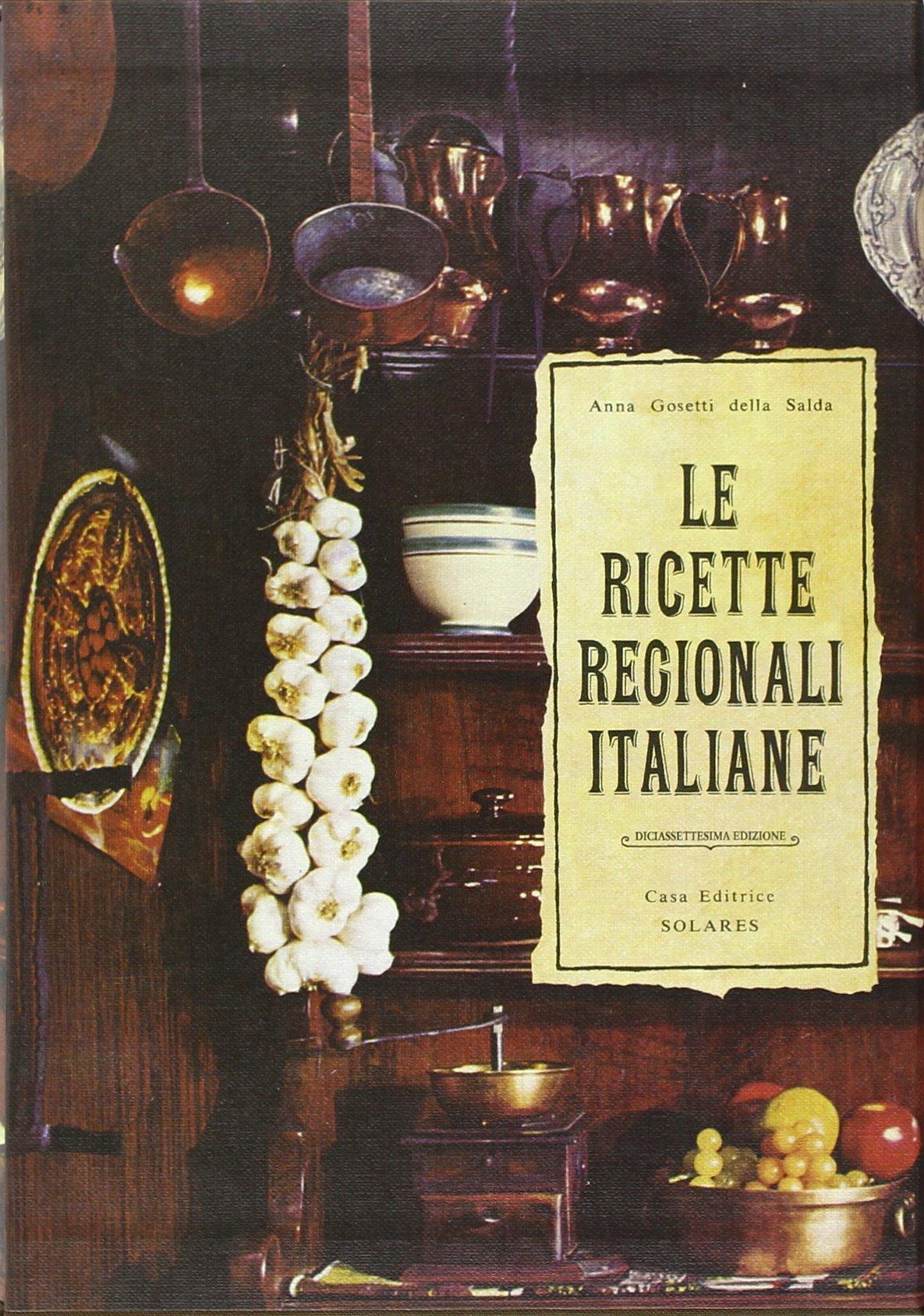 Le ricette regionali italiane ebook