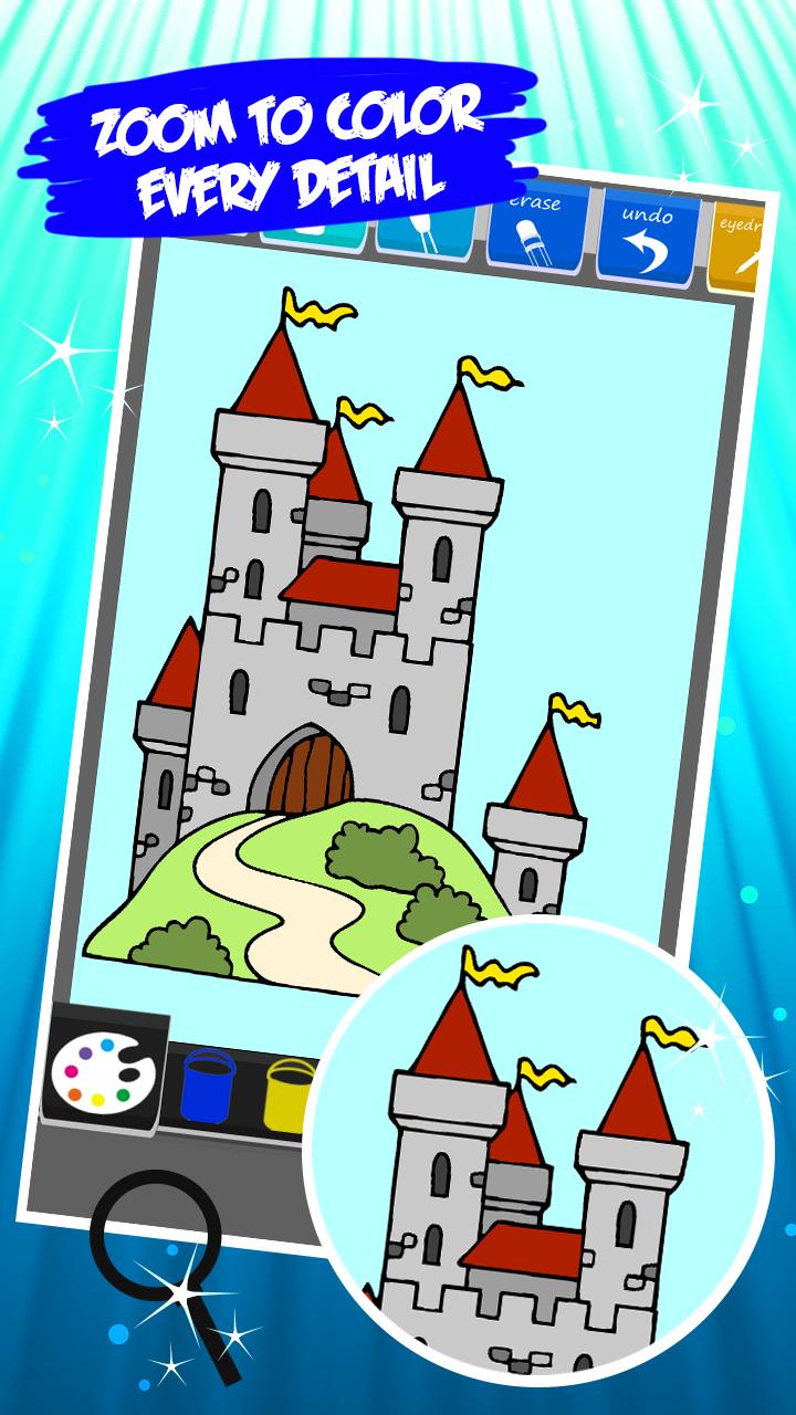 Livro de colorir para castelo: Amazon.com.br: Amazon Appstore