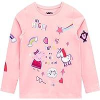 Peppa Pig Camiseta de Manga Larga para niñas Unicornio