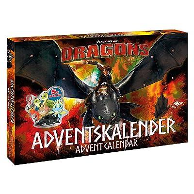 Disney Dragons Calendrier de l'Avent, 57323