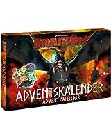 Disney 57323 Dragons Calendrier De L'avent Figurines Bijoux Accessoires