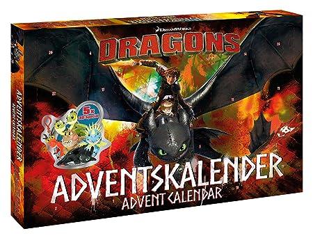 CRAZE 57323 – Calendario de Adviento DreamWorks Dragons