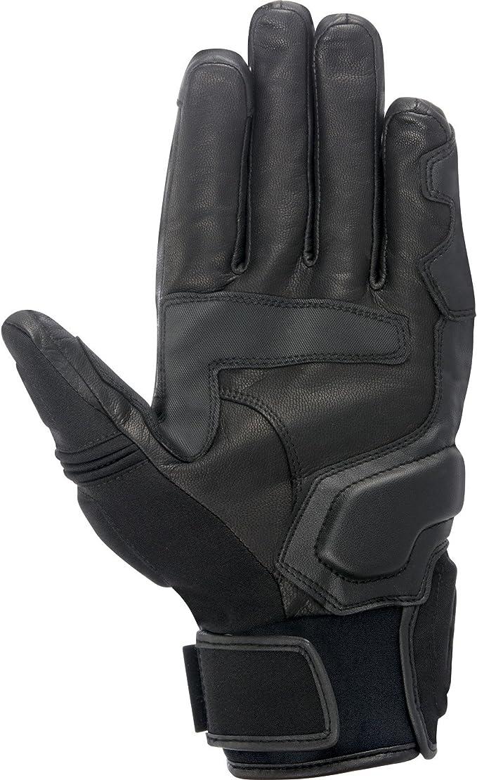 Black//3X-Large Alpinestars Celer Mens Leather Street Racing Motorcycle Gloves