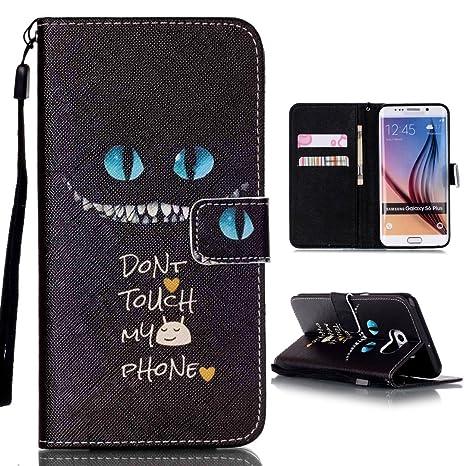 Samsung Galaxy S6 Edge Plus Funda, Xf-fly Billetera Caso Carcasa Flip Cuero PU para Samsung Galaxy S6 Edge Plus (5.7