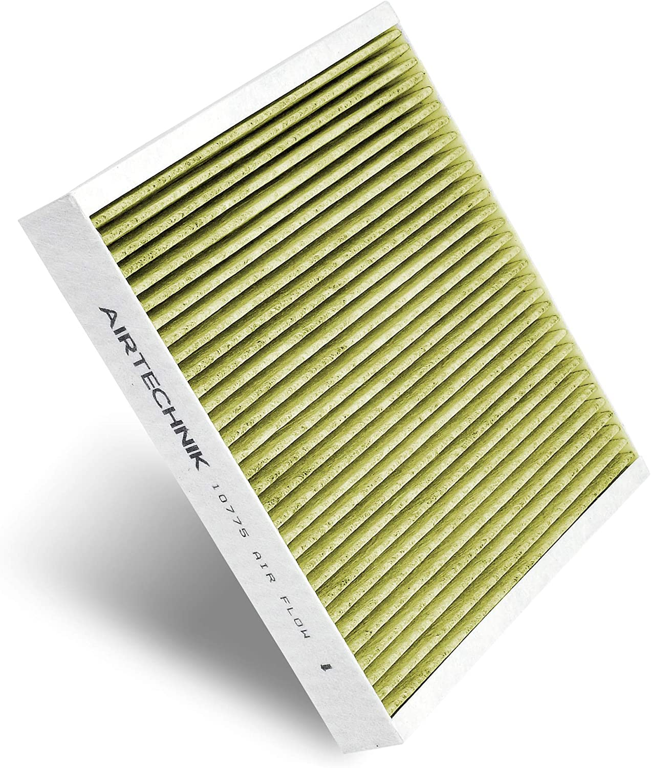 AirTechnik CF10775 Replacement for Chevrolet//Cadillac//SAAB//Buick Premium Cabin Air Filter w//Activated Carbon