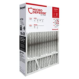Honeywell Home 4-Inch High Efficiency Air Cleaner Filter, MERV 8 Rating, (CF100A1009)