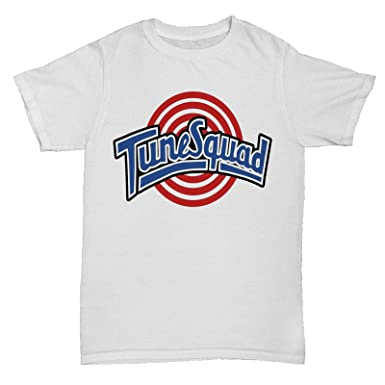 fd5598d58aa DesignTshirtsDirect Tune Squad Inspired Space Jam 90S Film Movie Retro Cult  Basketball T Shirt: Amazon.co.uk: Clothing