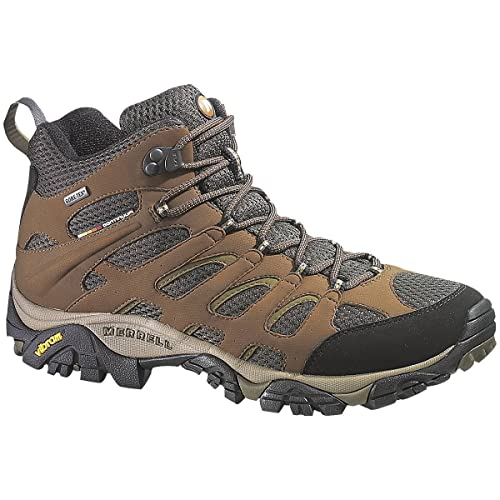 Mens Merrell Moab Mid GORE-TEX XCR Wide Width Dark Earth Size 9